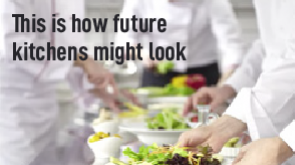 This is how future kitchens might look