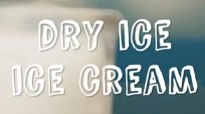 How to make ice cream with dry ice